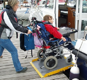 wheelchair boarding